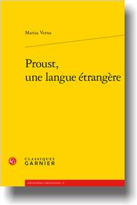 M. Verna, Proust, une langue étrangère