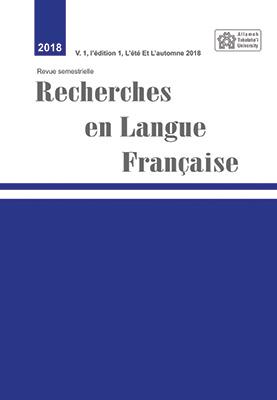 <em>Recherche en langue française</em>, n° 2, 2020
