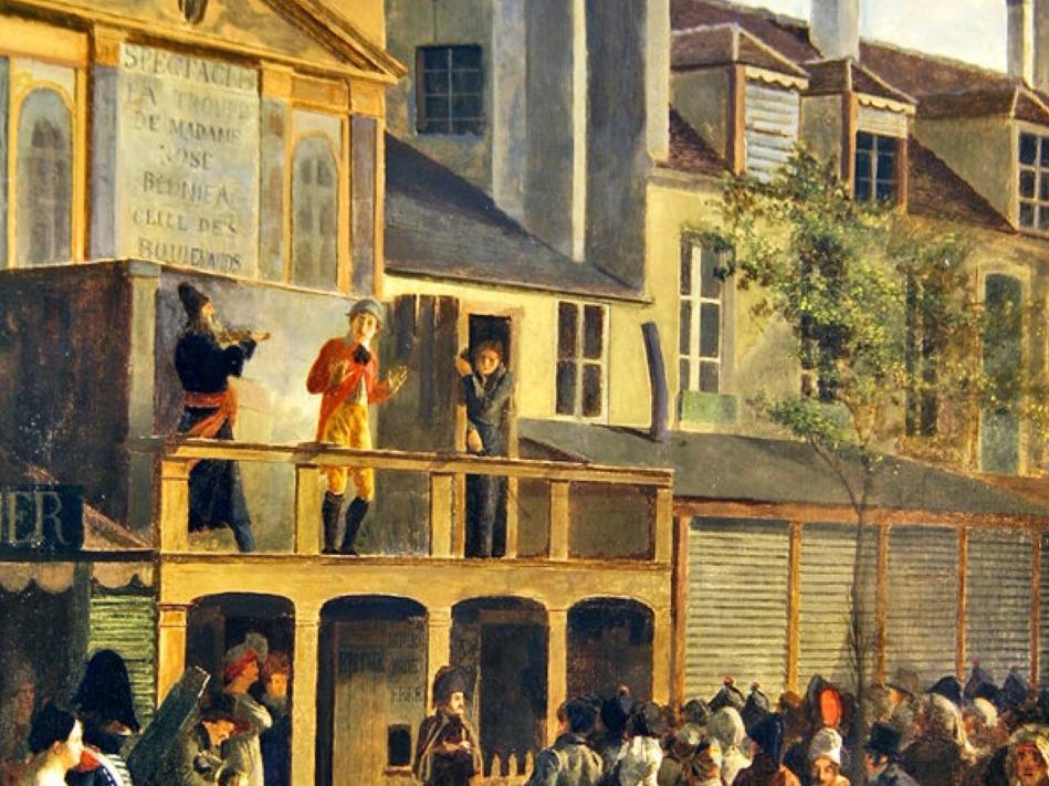 Représentation(s). Cultures visuelles des spectacles marginaux XVIIIe-XIXe s. (Lausanne, en ligne)
