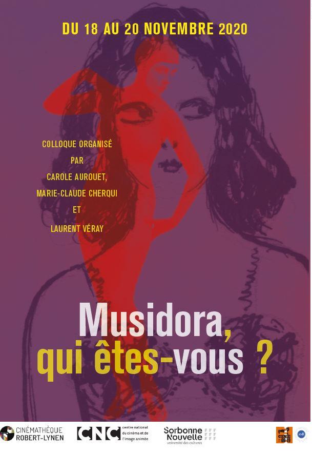 [annulé] Musidora, qui êtes-vous ? (Cinémathèque Robert-Lynen & CNC Paris)
