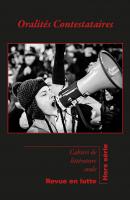 <em>Cahiers de Littérature Orale</em>, HS 2020 :