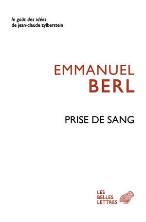 E. Berl,Prise de sang(1946)