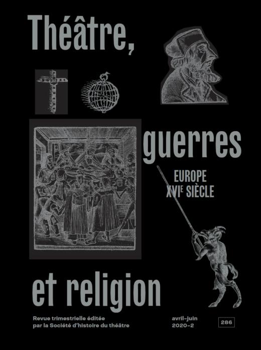 Revue d'Histoire du Théâtre, n° 286 :