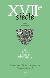XVIIe Siècle, n° 289 : F. Chauveau (O. Leplatre, B. Selmeci, dir.)