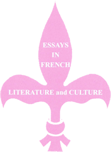 Essays in French Literature and Culture, n° 57 :