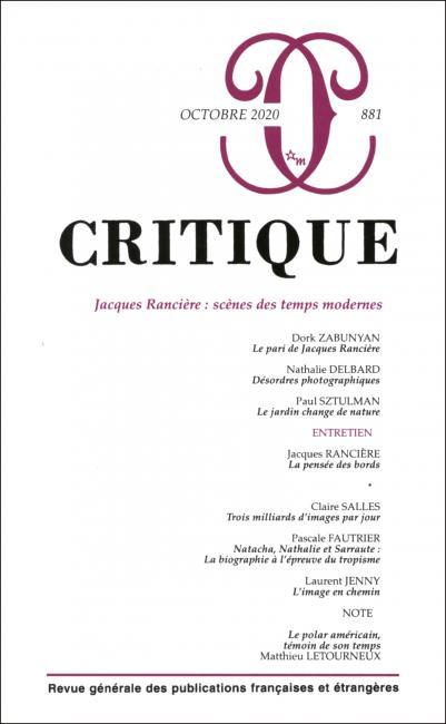 Critique, n° 881 :