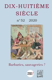 Dix-huitième Siècle, n° 52, 2020-1 :