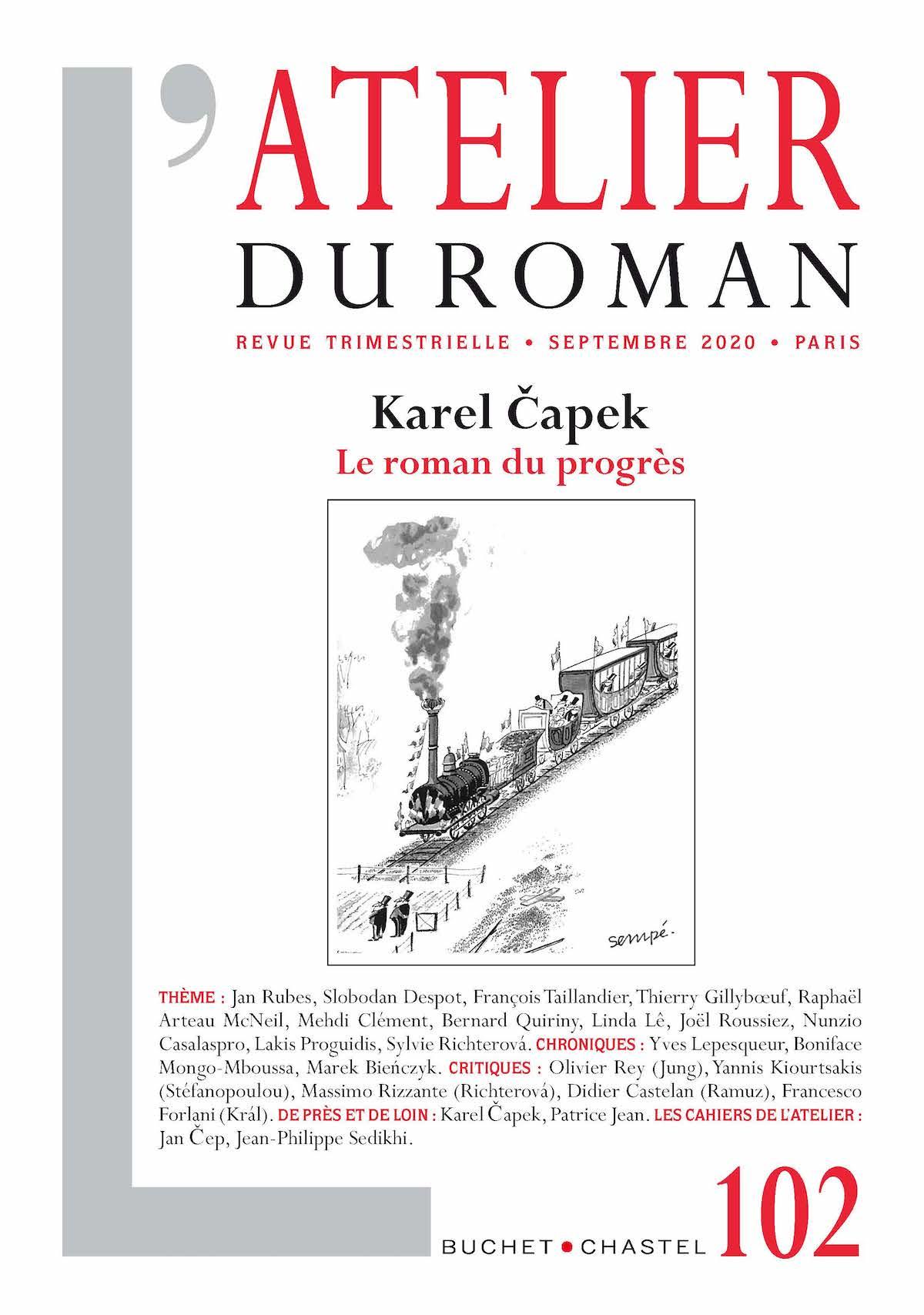 L'Atelier du Roman, n° 102: