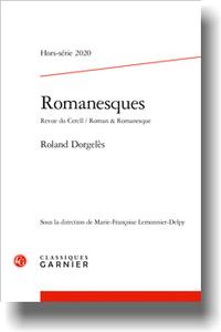 Romanesques, n° 13, 2020 :