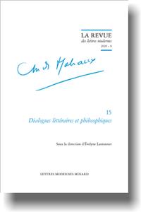Revue des Lettres Modernes, 2020 série André Malraux, 8:
