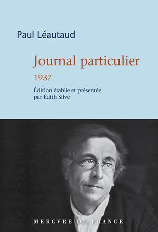 P. Léautaud, Journal particulier (1937)