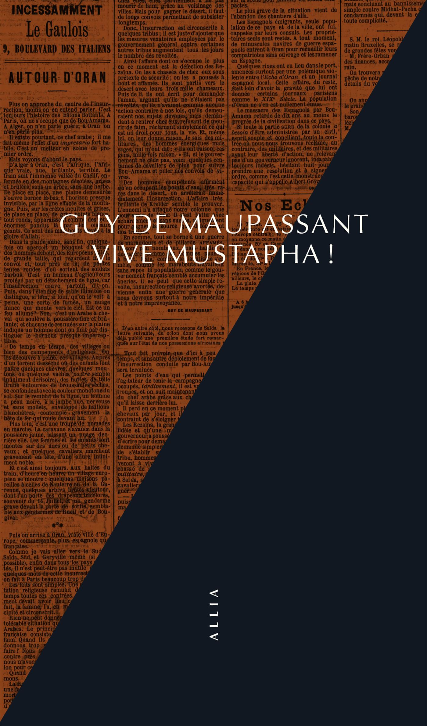 G. de Maupassant, Vive Mustapha !