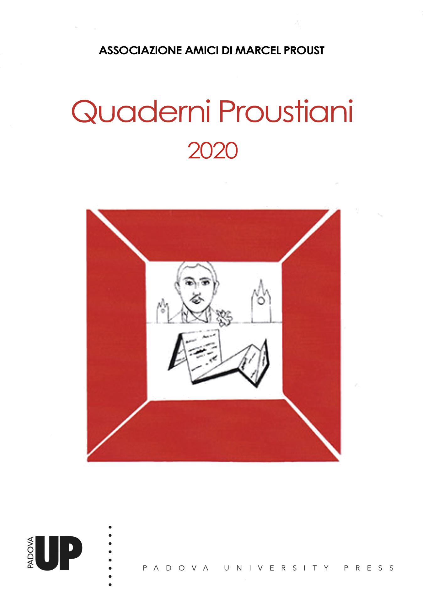 A. Simon, D. Vago, M. Verna, I. Vidotto (dir.), Quaderni Proustiani, n. 14, 2020 :