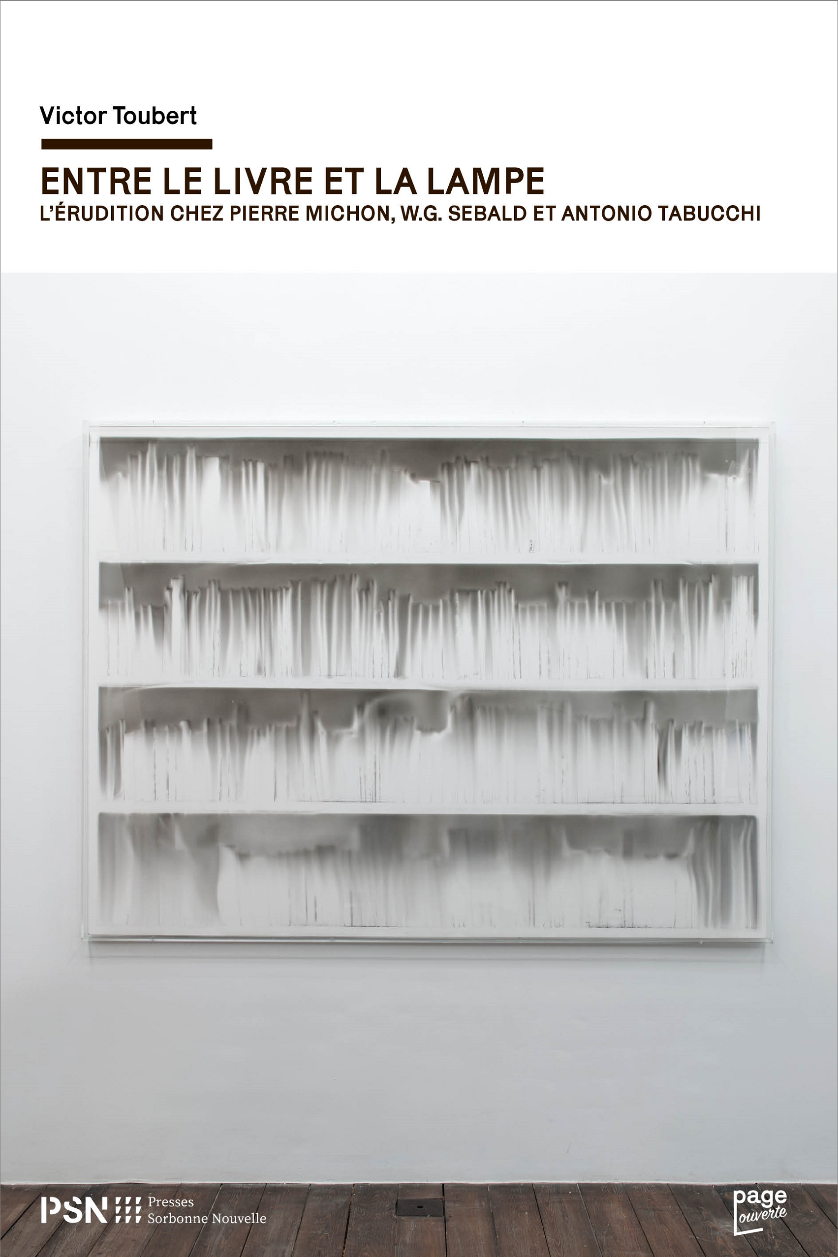 V. Toubert, Entre le livre et la lampe. L'érudition chez Pierre Michon, W.G. Sebald et Antonio Tabucchi