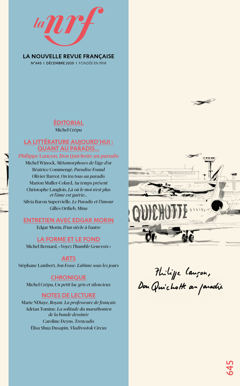 La Nouvelle Revue Française, n° 643