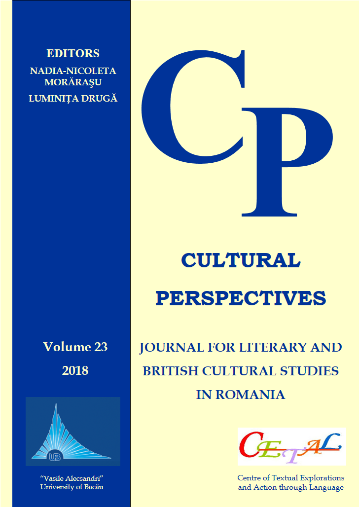 Cultural Perspectives. Journal for Literary and British Cultural Studies in Romania, n° 25/2020 :
