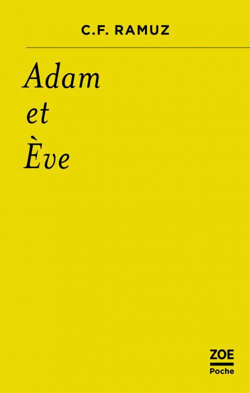 C.-F. Ramuz,Adam et Ève