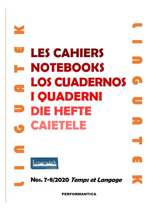 Les Cahiers Linguatek, n° 7-8: