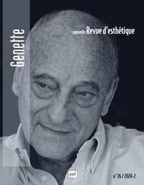 Nouvelle Revue d'Esthétique, n°26, 2020-2: Genette