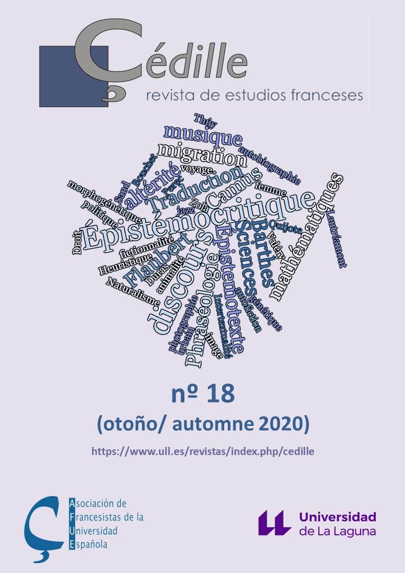 Çédille, revista de estudios franceses / Çédille, revue d'études françaises, n° 18