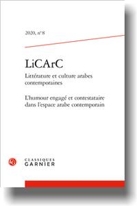 LiCArC Littérature et culture arabes contemporaines 2020, n° 8
