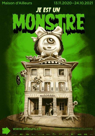 Je est un monstre (Maison d'Ailleurs, Yverdon, Suisse)