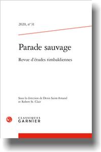Parade sauvage. Revue d'études rimbaldiennes 2020, n° 31: varia