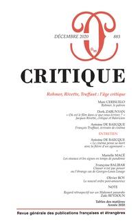Critique, n° 883 :