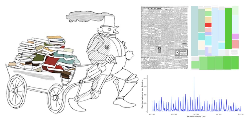 Modéliser l'histoire culturelle avec l'intelligence artificielle : conférence-atelier du projet ANR Numapresse (18 janvier, en ligne)