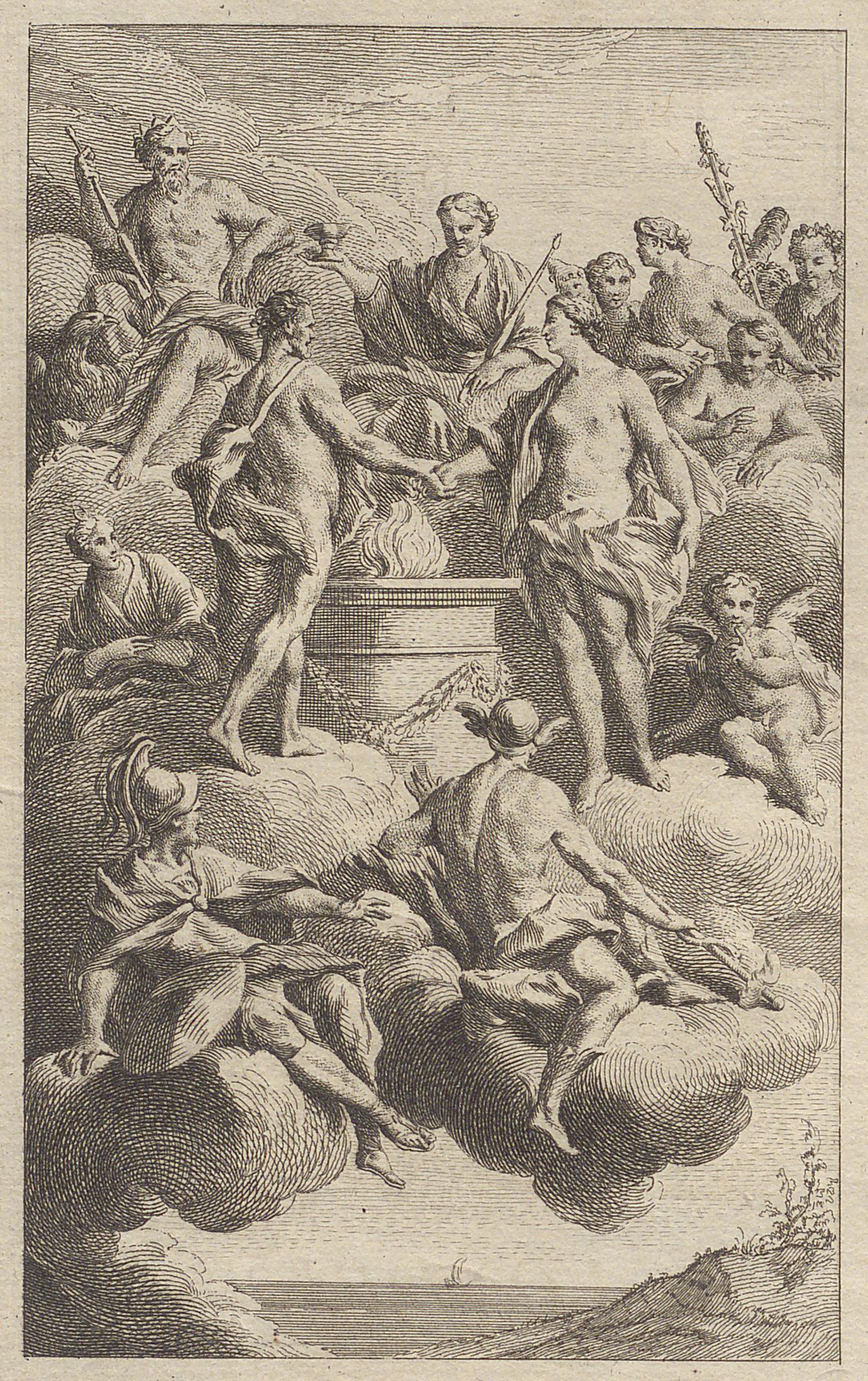 Montesquieu, Le Temple de Gnide (en ligne)