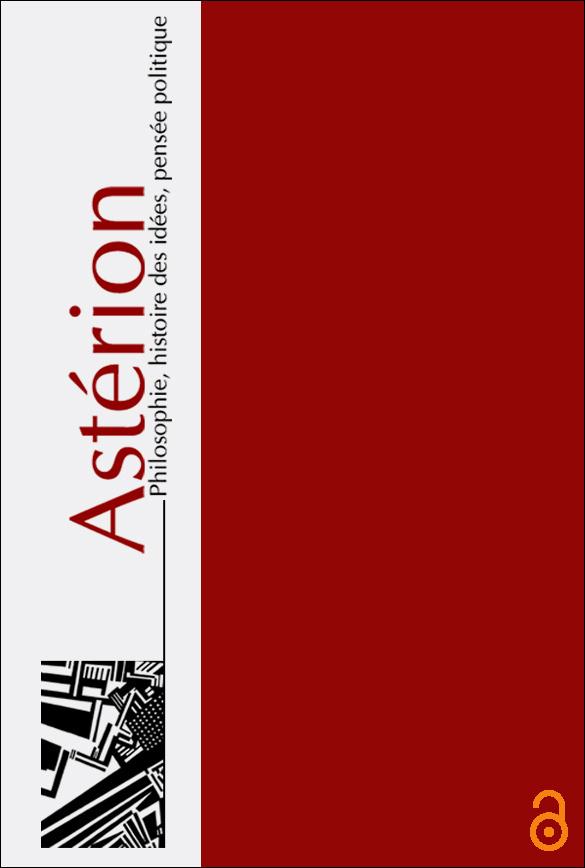 Astérion, n°23/2020:
