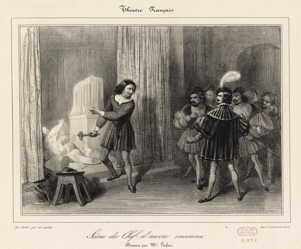 Les chefs-d'œuvre inconnus au XIXe siècle