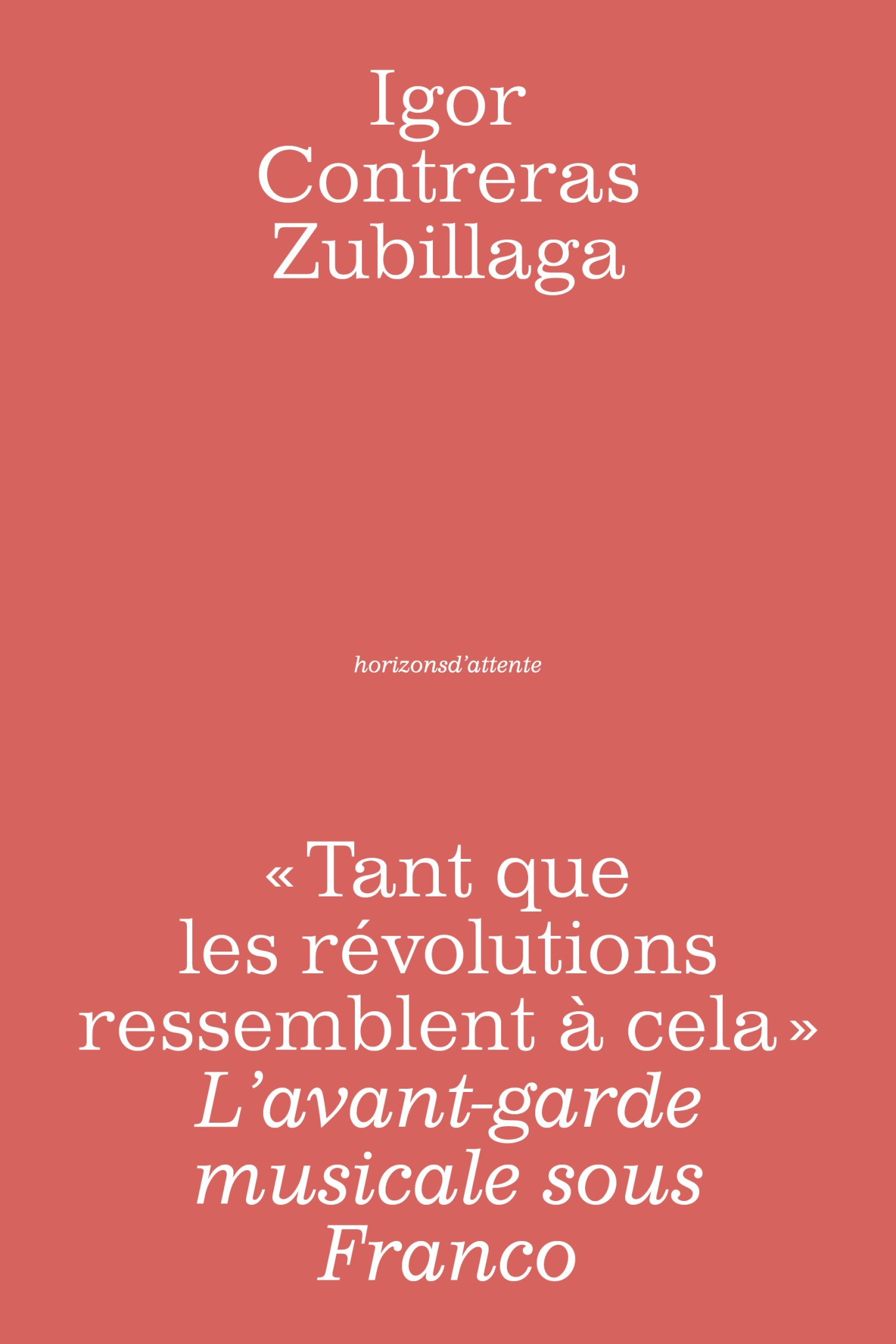 I. Contreras Zubillaga,