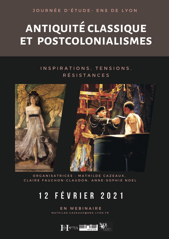 Antiquité classique et postcolonialismes : inspirations, tensions, résistances (ENS Lyon)
