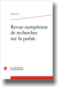 Revue européenne de recherches sur la poésie, n° 6 : varia
