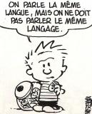 La langue française n'est pas la langue française !